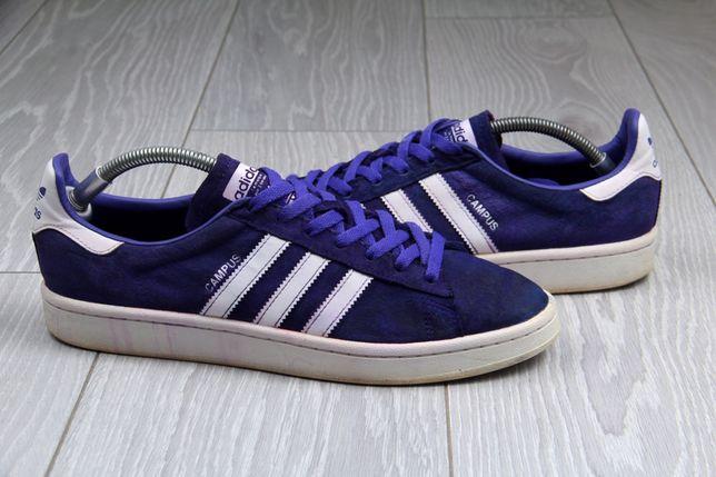 Кроссовки Adidas Campus оригинал фиолетовые размер 43 gazelle samba