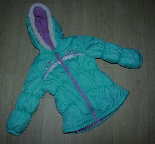 Куртка зимняя на девочку 6-7 лет