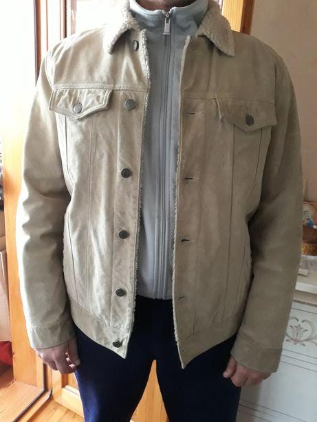 Тренд сезона!Куртка GAP натуральный замш