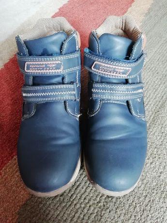 Buty chłopięce jesień/ciepła zima sprandi 34