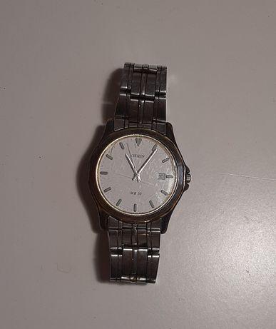 męski zegarek na rękę citizen w50 antyk