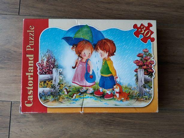 Puzzle Castorland Deszczowy spacer 30 elementów