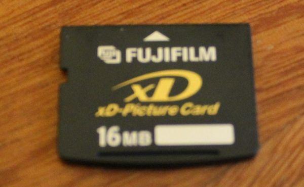 FugiFilm karta do aparatu xD-Picture Card 16mb