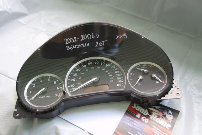 Licznik Zegary Saab 9-3 2.0t Aero 03-06r gb Wskaźnik Turbo