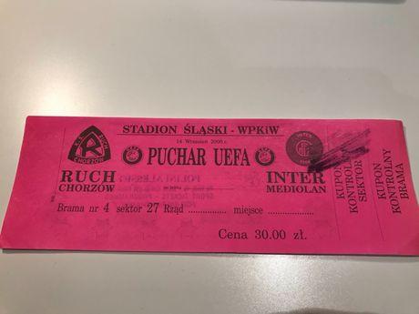 Bilet Ruch - Inter Mediolan 2000