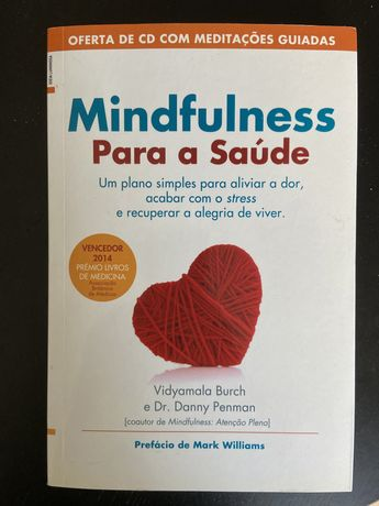 """Livro """" mindfulness para a saude"""""""
