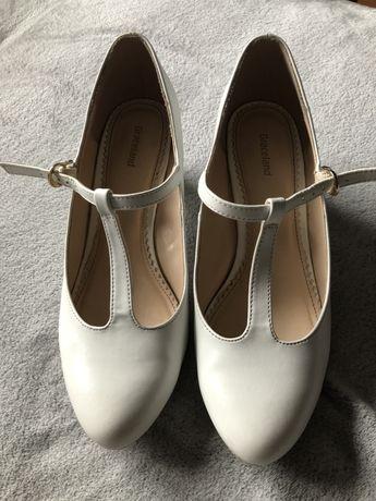 Białe buty ślubne Graceland