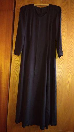 Czarna,długa sukienka