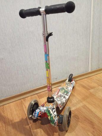 Детский самокат i-trike