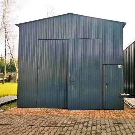 Garaż blaszany 5x7x3 Garaże blaszane Profil Zamknięty