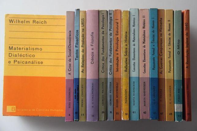 """16 livros da """"Biblioteca de Ciências Humanas"""" da Presença"""