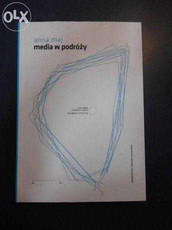 """Książka """"Media w podróży"""" A. Maj"""