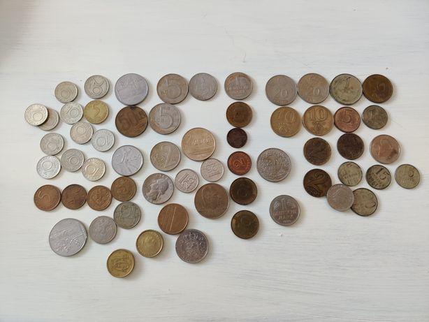 Старые монеты разных стран 1961 - 2000 гг