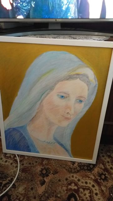 wspolczesna ikona Matki Bozej z Medjugorje