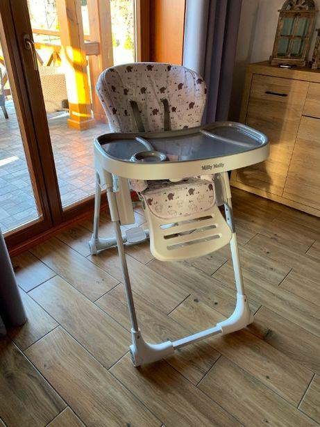 Krzesełko do karmienia 3w1 Milly Mally Milano - leżak, stolik