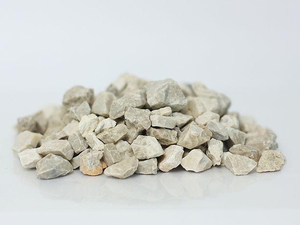 Grys Dolomit Biały Piękny Kamień Ogrodowy Ozdobny 8-16mm 25kg