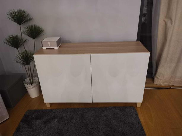 szafka szafa komoda IKEA BESTA biała