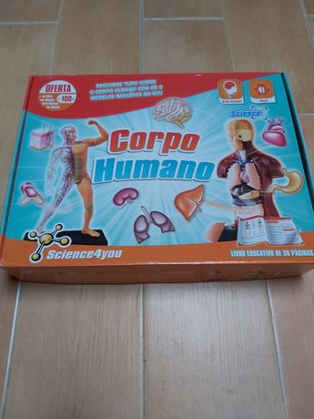 Jogo educativo Science4you Corpo Humano
