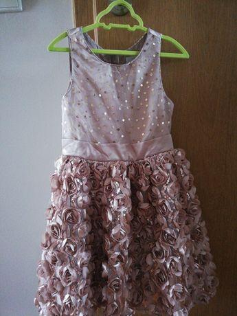 Sukienka dla dziewczynki w wieku  7lat rozm 116