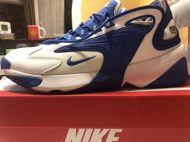 Кроссовки Nike zoom 2k синие, размер 27,5 см
