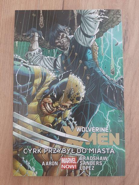 Komiks Wolverin i X-MEN Cyrk przybył do miasta