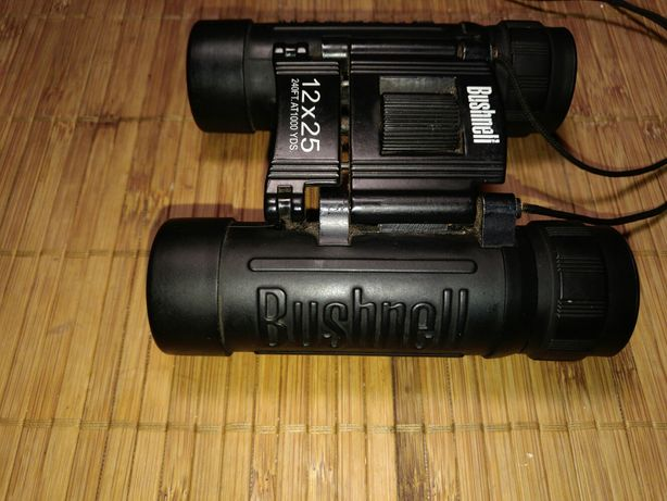 Компактный фирменный бинокль bushnell 12×25. Обмен на монокуляр.