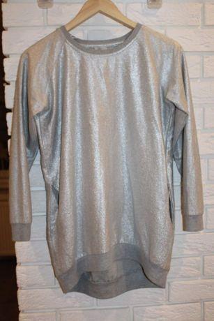Metaliczka bluza bluzka