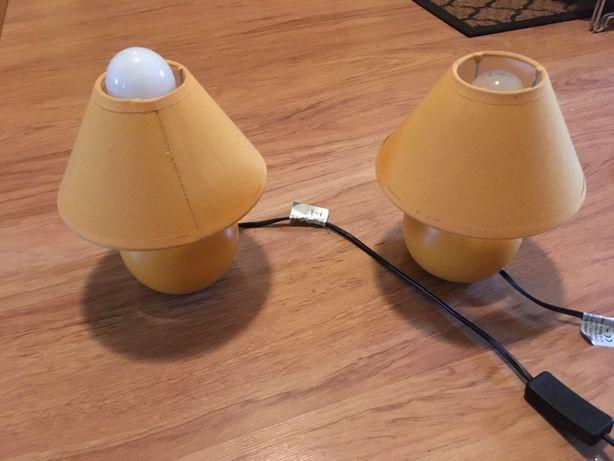 Lampki nocne dwie sztuki