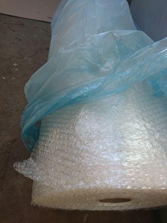 Пузырьковая пленка 1х50м (пупырка упаковочная воздушно пузырчатая)