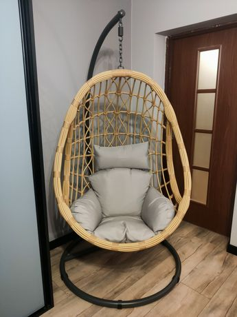 Fotel wiszący bujany ogrodowy kosz huśtawka kokon echo mv 6475