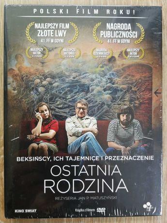Ostatnia rodzina DVD booklet nowa. Folia Gdańsk