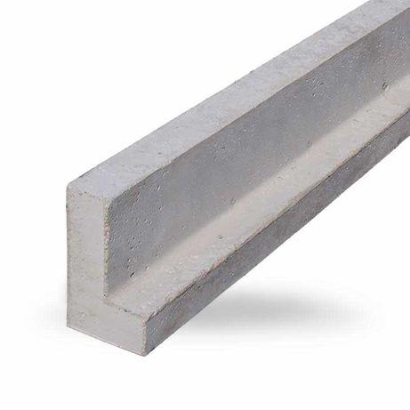 Nadproże betonowe Nadproża L19 9 lub 12 od 90cm do 360 Częstochowa HDS