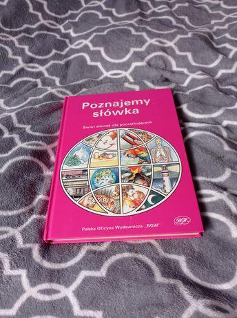 Książka z słówkami do angielskiego