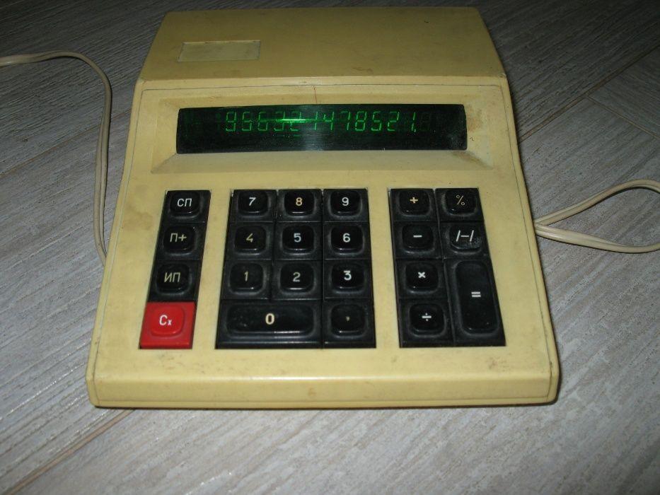 Микрокалькулятор электроника МК22 Днепр - изображение 1
