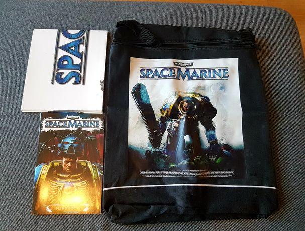 Gadżety Warhammer 40000 Space Marine plakat, torba, handbook