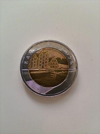 Moneta 5 złotych Kanał Bydgoski