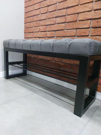 Siedzisko ławka Pufa pikowana