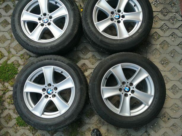 Felgi 18' BMW X5 + opony Continental 255/55/18
