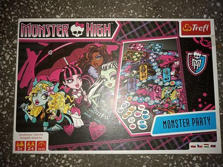 Monster High monster party puzzle