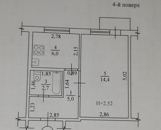 Продам 1 к. кв Павлово Поле, м.23 Августа