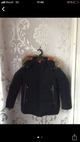 Зимняя куртка на мальчика на рост 110 3/4 года