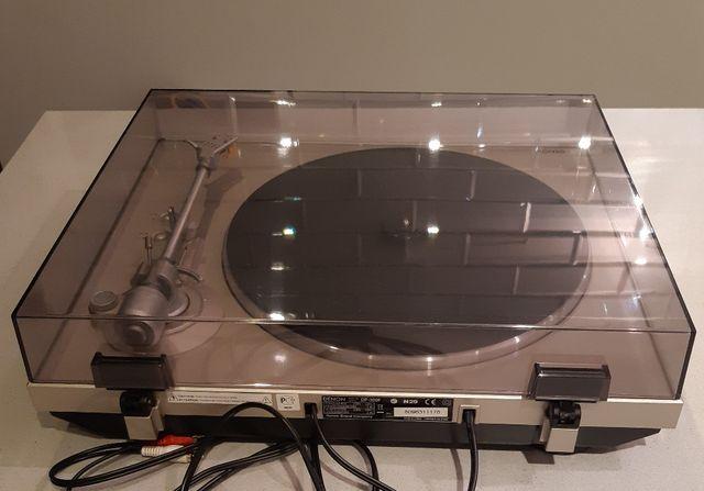 Gramofon Denon DP 300F srebrny MM super jakość od 1 wł. automatyczny