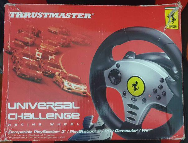 Trustmaster volante para pc e playstation