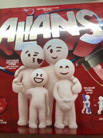 Настольная игра alians альянс danko для веселой компании
