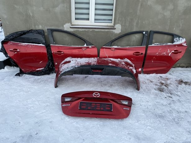 Mazda 3 2013 - 2018 года Двери Крышка Бампер Фонари. НАЛИЧИЕ. РАЗБОРКА