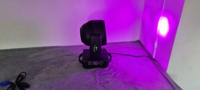 Profesjonalna  maszyna świetlna ruchoma glowa oświetlenie klubu lasery
