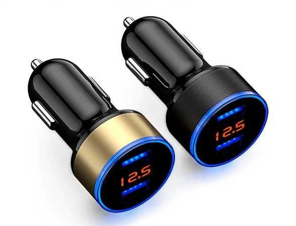 ładowarka Samochodowa USB 12-24V,