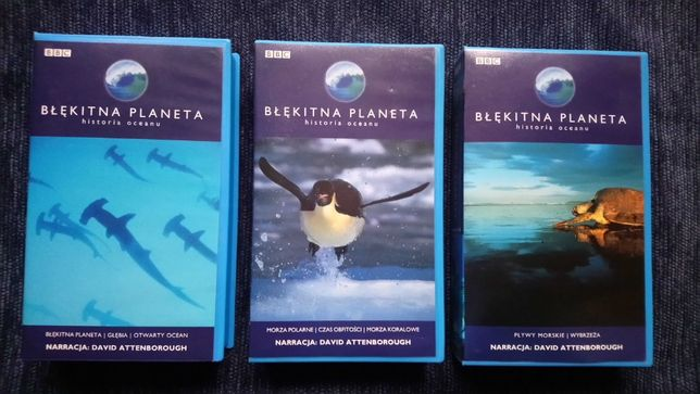 Błękitna Planeta kaseta VHS