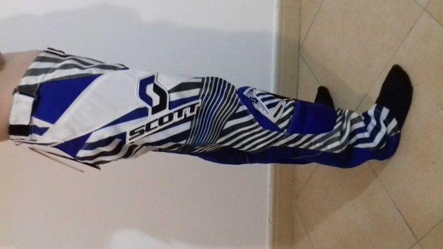 Calça motocross Scott