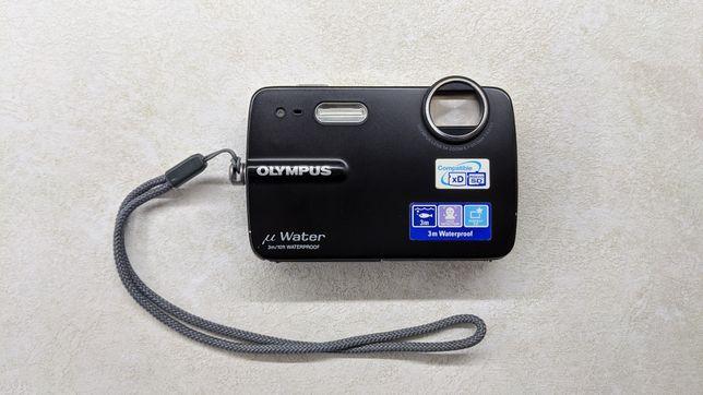 Фотоапарат Olympus Mju-550WP Black+ флешка 2 GB водонепроницаемый до 3